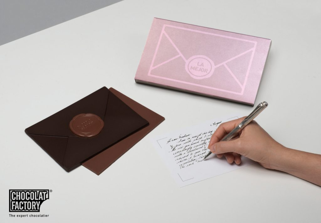 Chocolat Factory - The envelope