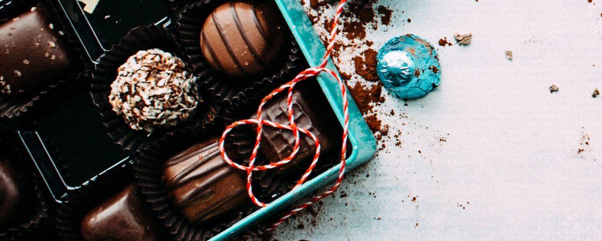 slide chocolate
