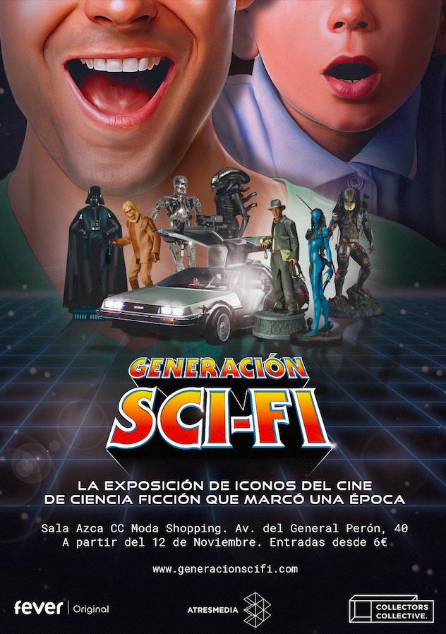 cartel exposición Generación Sci-Fi Madrid Moda Shopping